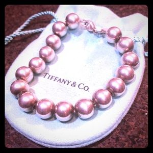 Tiffany & Co. Sterling Bead Bracelet 💋